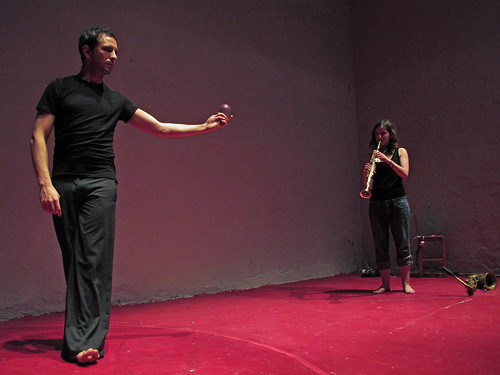 alexandra grimal + adrien mondot à l'atelier du plateau