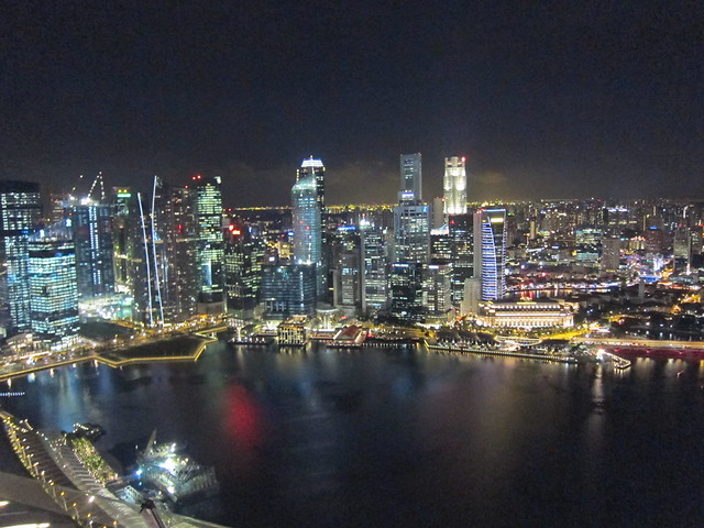Night View At The Skypark Observer Deck