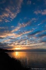 Alba sul lago di Fogliano (Libero Middei) Tags: lake lago alba filter lee manfrotto fogliano circeo 075 filtri lagodifogliano manfrotto190prob parconazionaledelcirceo liberomiddei