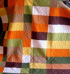 Bauhaus Inspired Quilt