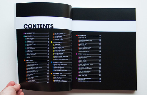 Creative Workshop: Contents Page