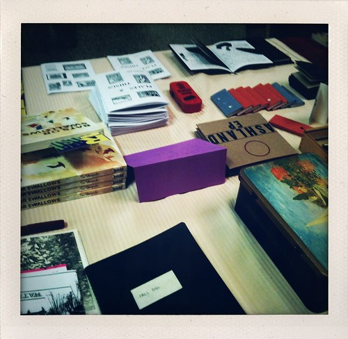 Expozine table