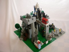 Lord of the Rings Custom Lego Window on the West 4