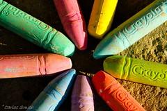 Colors (Carlos Smith) Tags: pink blue sunset red orange color colour green yellow chalk long purple shade salvador elsalvador crayola crayolas