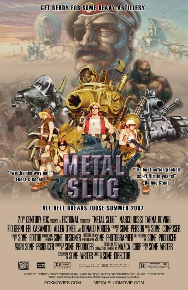pósters cinematográficos de videojuegos 2