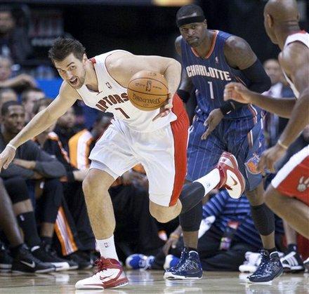 Toronto Raptors Charlotte Bobcats December 14, 2010