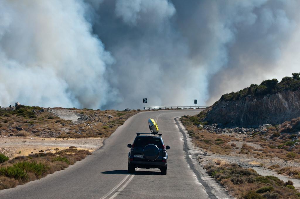 Kythira Wildfire