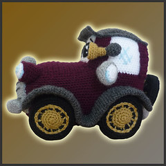 Amigurumi Crochet Patterns Dolls : Ravelry: Classic Car - Amigurumi Pattern pattern by Paola ...