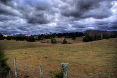 Pasture, Stratocumulus clouds, Overton Co, TN (Chuck Sutherland) Tags: county clouds landscape tn tennessee pasture hdr stratocumulus overton tonemapped
