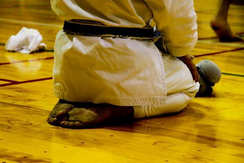 Oskar Karate -  (ojito a los pies)