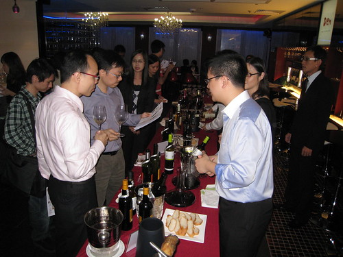 Quevedo wines tasting in Hong Kong