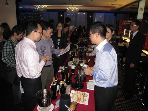 Quevedo wines tasting in Hong Kong