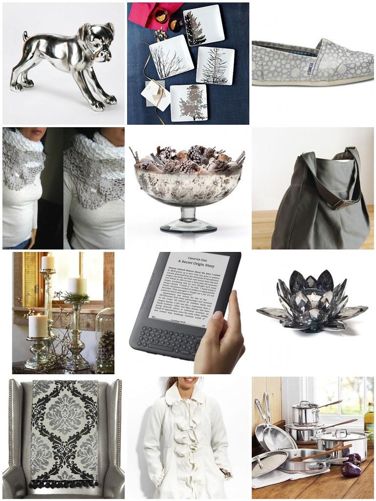 Christmas Gift Extravaganza: Gray & White