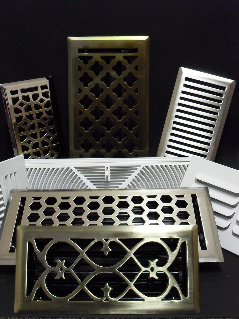 Floor Registers, wall and ceiling vent covers