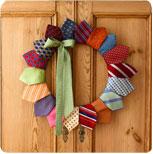tie-wreath