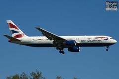 G-BNWM - 25204 - British Airways - Boeing 767-336ER - Heathrow - 100617 - Steven Gray - IMG_3941