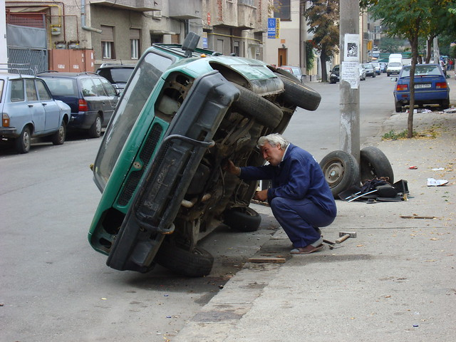 Cars in Bucarest-3