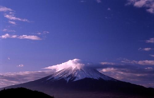 [フリー画像] 自然・風景, 山, 富士山, 日本, 201012270700