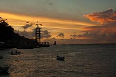 Porto Brando (genuine nerd) Tags: sunset pordosol portugal crane tejo industriallandscape tagus almada portobrando guindaste margemsul