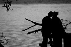 Couple at the River Bank
