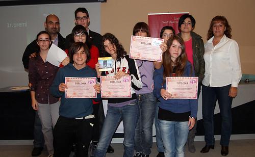 Entrega de premis Una foto x la igualtat