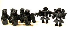 Weird War II Hardsuits (*Nobodycares*) Tags: amazing lego nazis wwii worldwarii hazel armor ama ww2 guns armory shields worldwar2 germans gasmasks uas gow holsters sheaths hardsuits brickarms aww2 brickforge mmcb minifigcat weirdwarii weirdwar2 panzercorps awwii zsuits