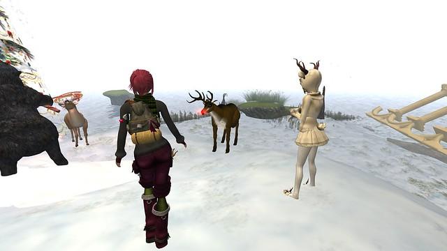 we'll be reindeer whisperers - Torley Linden