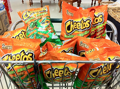 Mission accomplished! $20 worth of jalapeño cheetos