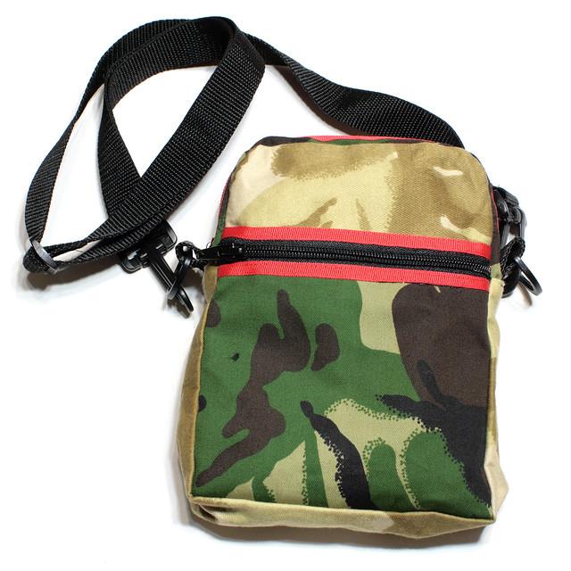 Camouflage handmade bag