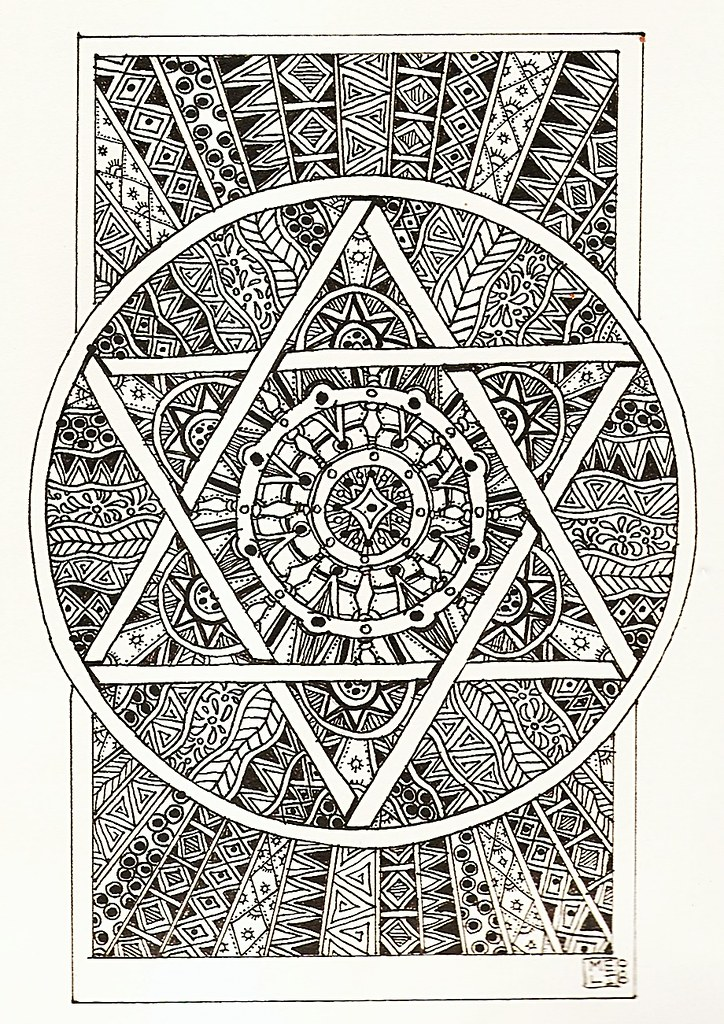 Kaleidoscope Coloring Pages Miner