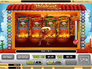 free La Cucaracha slot bonus game