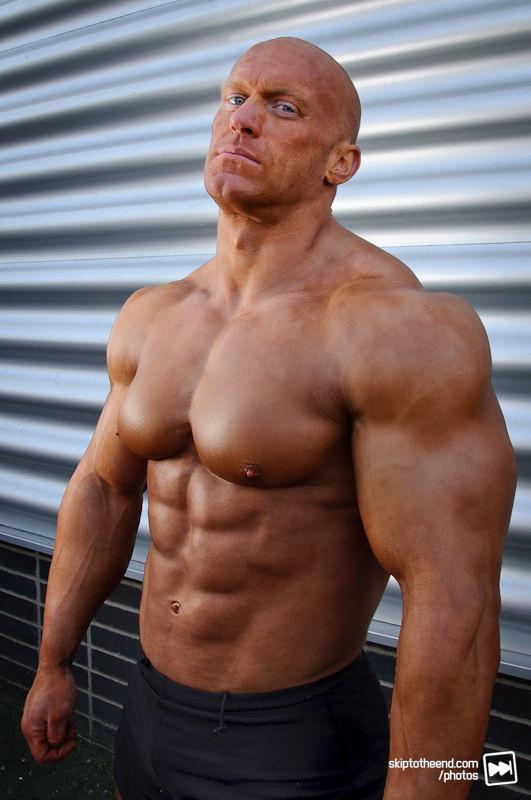 bald musclemen