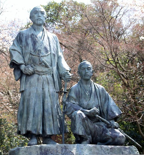 Statues de samouraïs - Maruyama park by Annie Guilloret