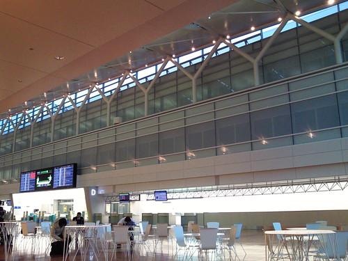 羽田空港第2 ターミナル出発ロビー増床部分