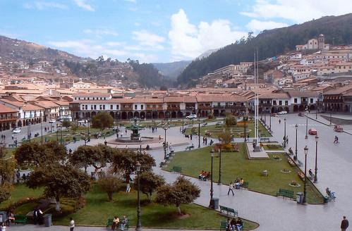 Cuzco, hlavní město Inků