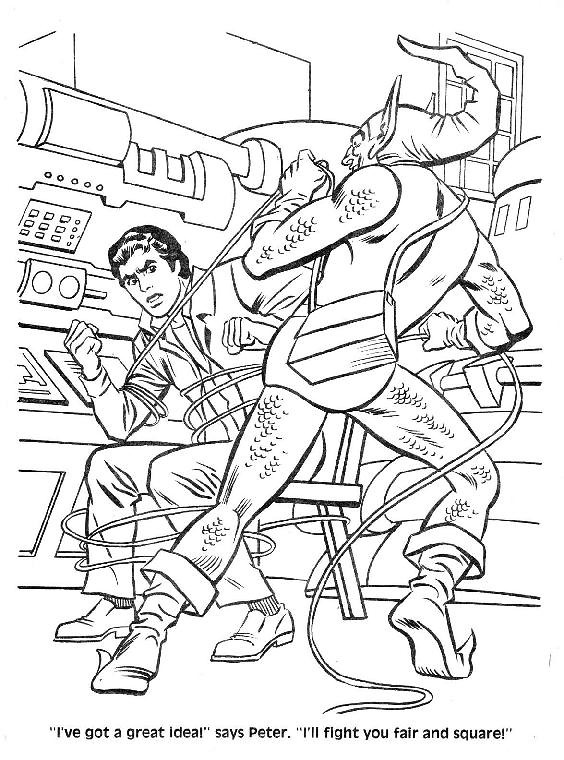 Spider-Man Unmasked! Coloring Book040