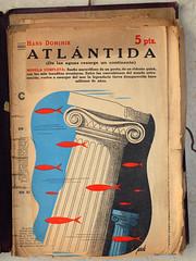 """""""Atlntida"""", portada de Manolo Prieto (obaku estudio) Tags: 1940 ilustracin manoloprieto diseogrficoantiguo"""