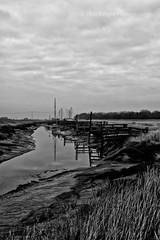 Misty Creak (ROB KNIGHT photography) Tags: uk light england mist water fog dunes naturereserve 2010 creak gibralterpoint 24105mm robknight lincolnshirewildlifetrust canoneos5dmkii axeman3uk robknightphotography 24105efslens