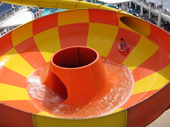 Big Bowl (Bradley Nash Burgess) Tags: ocean cruise november sea vacation tube carribean 100v10f cruiseship caribbean waterslide tubing epic whee carribbean norweigan norweiganepic canonpowershots95 norweigancrusie