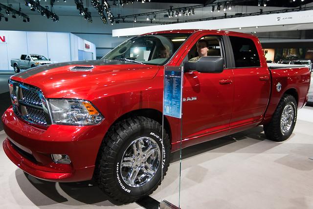 auto show la los 4x4 angeles cab autoshow center crew convention ram 1500 slt 2010 laas cflophotography