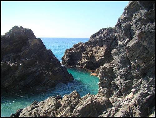 Rocas en Playa el Cañuelo