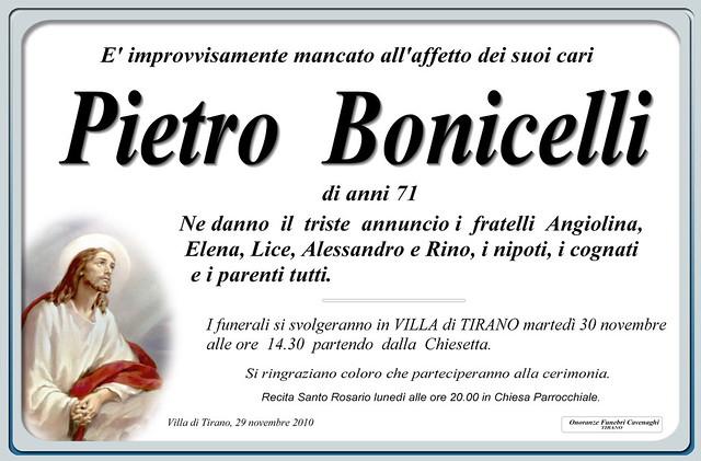 PIETRO BONICELLI
