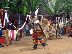 Dorze dance show for tourists (Linda DV) Tags: africa travel canon geotagged ethiopia chencha 2010 dorze powershots5is lindadevolder