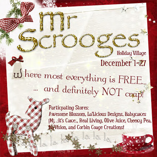 Mr. Scrooge's Holiday Village