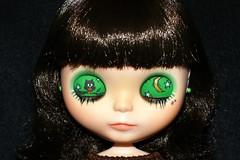 Life's A Hoot Custom #4 ~ Eyelid Details