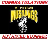 Mustang Advanced Blogger Badge
