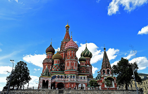 Saint Basil's Cathedral, Moscow, From FlickrPhotos