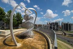 (B Plessi) Tags: portello parco collina dna hélice panorama lombardia italia architecture alfa romeo elica sculpture