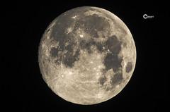 The moon July 8th 2017 (KORAK AGHA) Tags: lunar moon night longexpousure longexpo teleconvertor kenko nikon nikkor 300mm afi afd f28 d7000 tripod