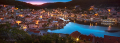 eavesdropping on time (cherryspicks (on/off)) Tags: pucisca croatia adriatic mediterranean landscape architecture buildings historic bluehour dusk twilight travel bay port harbor ship boat light reflection dalmatia island brac panorama